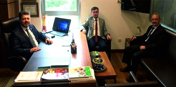 Kırkağaç İlçe Başkanı'ndan Milletvekili Özkan'a Ziyaret
