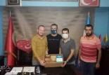 Türk Eğitim Sen'den Soma Ülkü Ocaklarına Ziyaret