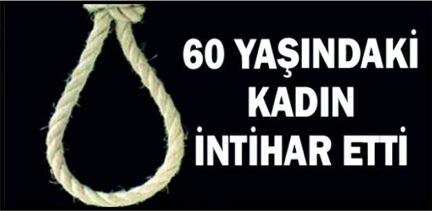 SOMA'DA 60 YAŞINDAKİ KADIN İNTİHAR ETTİ