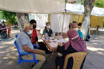 SOMA'DA AŞILAMA ORANI %76 SEVİYESİNE ULAŞTI