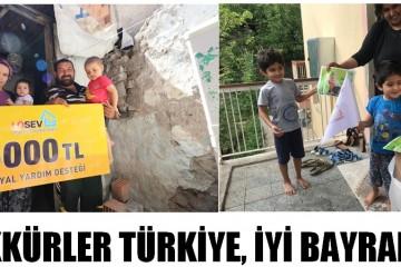 """""""TEŞEKKÜRLER TÜRKİYE, İYİ BAYRAMLAR!"""""""