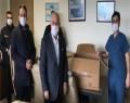 Sağlık Çalışanlarına Soma Lokumu Dağıtıldı
