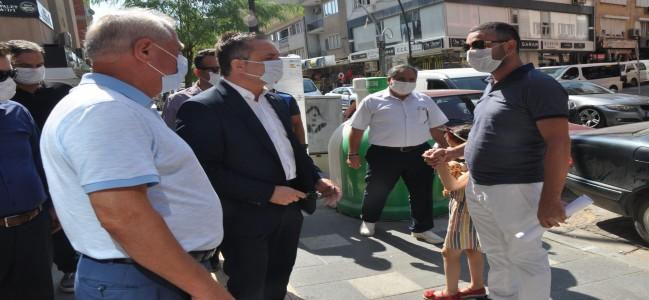 SOMA'DA KORONAVİRÜS DENETİMİ YAPILDI