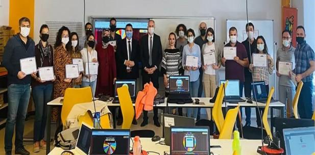 Yabancı Dil Öğretmenlerine Web 2.0 araçları eğitimi verildi