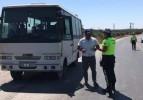 Trafik Ekipleri Hem Denetledi Hem İkramda Bulundu