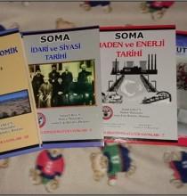 """SOMA SOSYAL ve  EKONOMİK TARİHİ""  KİTABI ÇIKTI"