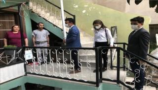 MASKİ'den SOMA'YA ZİYARET