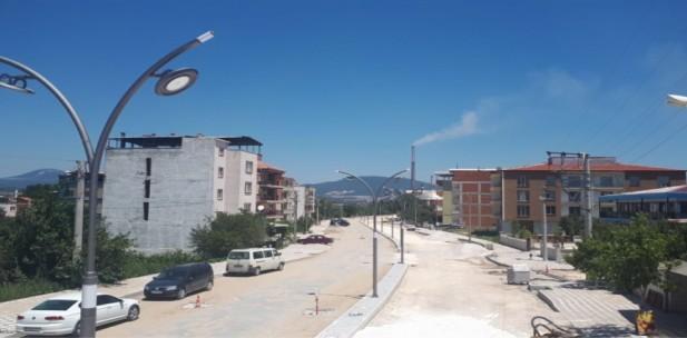 Adnan Menderes Caddesi'nde Yoğun Mesai