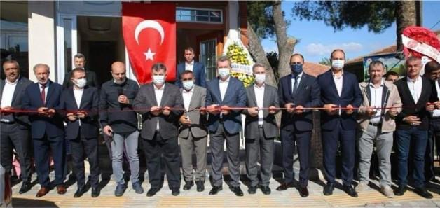 ÖZ MADEN İŞ EGE BÖLGE ŞUBESİ KINIK'TA AÇILDI