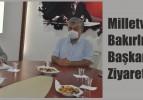 Milletvekili Ahmet Vehbi Bakırlıoğlu,  Başkan Ali Ayan'ı Ziyaret Etti