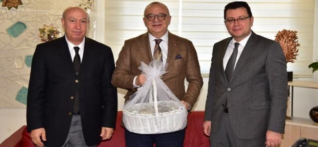 Soma Termik Santralden Başkan Ergün'e Teşekkür Ziyareti
