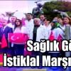 Sağlık Görevlileri İstiklal Marşını Okudu
