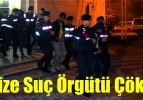 Organize Suç Örgütü Çökertildi
