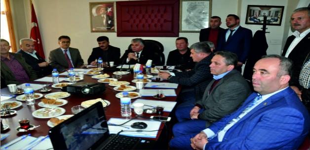 Ziraat Odaları İl Koordinasyon Toplantısı Soma'da Yapıldı