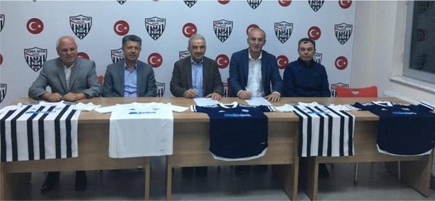 Somaspor'a destek için İmbat ile imzalar atıldı