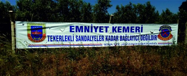 """Soma Jandarma Trafik ´ten öğrencilere """"Sürücü Seyahat Karnesi"""""""