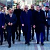 Başkan Ergün Kırkağaç'ta Bir Takım Ziyaretler Gerçekleştirdi