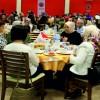 KADEM SOMA'DA MADENCİ ŞEHİT VE GAZİ YAKINLARI İLE İFTARDA BULUŞTU
