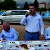 Özkan, belediye çalışanlarıyla kahvaltıda bir araya geldi