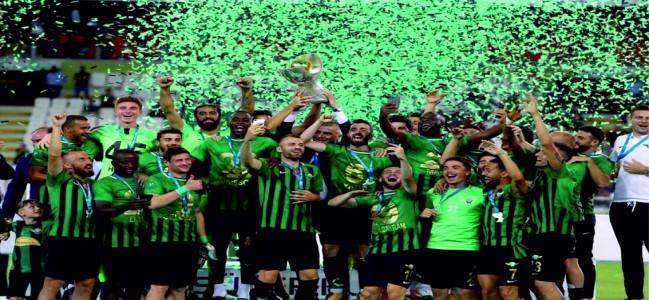 Süper Kupa Akhisarspor'un oldu