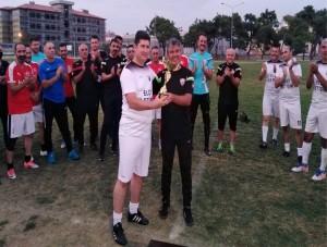 Turnuvanın Şampiyonu Soma Masterler