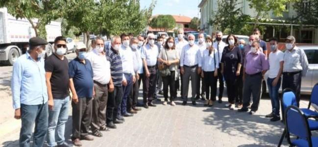 Genel Müdür Başaran, Soma Cenkyeri Mahallesini Ziyaret Etti