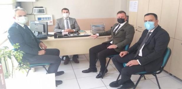 Soma ve Kırkağaç'ta MABEM İle ÇKSM Birimleri Ziyaret Edildi