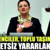 """""""ÖĞRENCİLER, TOPLU TAŞIMA ARAÇLARINDAN ÜCRETSİZ YARARLANSIN"""""""