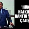 """""""HÜKÜMET HALKIN DEĞİL, RANTIN YARARINA ÇALIŞIYOR"""""""
