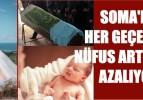 SOMA'DA HER GEÇEN YIL NÜFUS ARTIŞ HIZI AZALIYOR