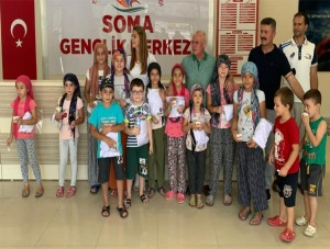 Soma Belediyesi Yaz Spor Okulları Sona Erdi