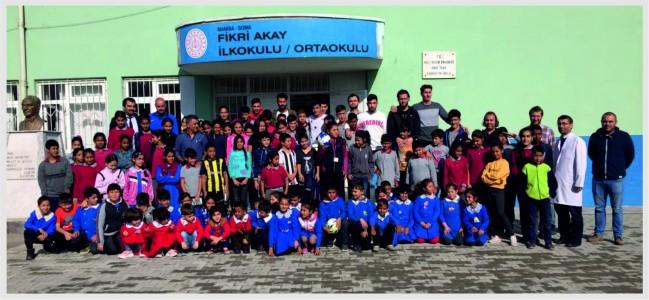 Somaspor'dan Öğrencilere  Ziyaret Ve Söyleşi