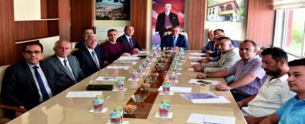 Soma Organize Sanayi Bölgesi Müteşebbis Heyeti Toplandı