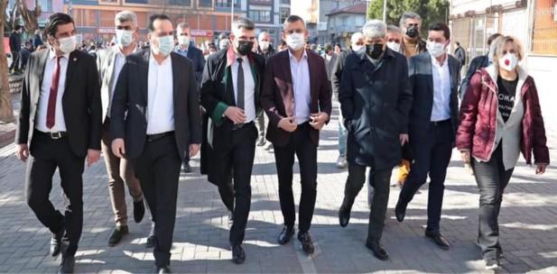 CHP'Lİ ÖZGÜR ÖZEL'DEN SOMA DAVASI AÇIKLAMASI