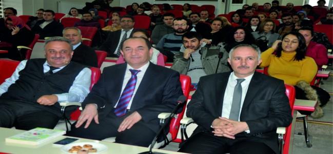 Ünlü Prof. Dr. Salih Çepni Soma'da Seminer Verdi