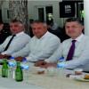 Soma'da Protokol bayramlaştı