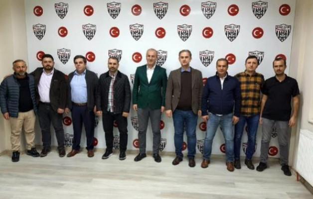 Somaspor'da Aydın yeniden başkan