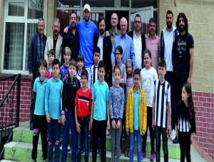 Somasporlu Futbolcular Öğrencilerle Buluştu