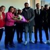 Soma Sporlu Futbolcular Öğretmenleri Unutmadı
