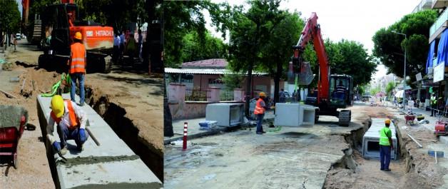 Su Baskını Manzaraları Soma'da  Tarih Olacak