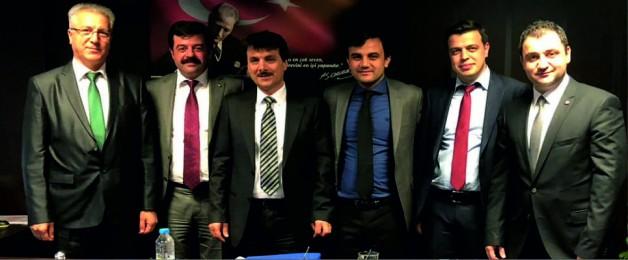 SOMA TSO, TKİ GENEL MÜDÜRLÜĞÜ'NÜ ZİYARET ETTİ