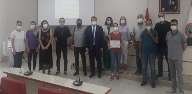 Soma'da Coğrafi İşaretler Bilgilendirme toplantısı yapıldı