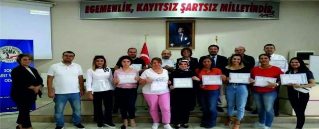 'KURUMSAL EĞİTİMLER' SERTİFİKA TÖRENİ İLE SONA ERDİ