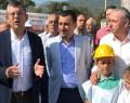 CHP'Lİ ÖZEL HAKLARINI ARAYAN MADENCİLERİ ZİYARET ETTİ