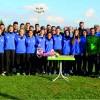 Kız Futbol Takımı Yeşil-Siyalı Futbolcuları Ziyaret Etti