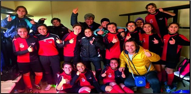 Zaferspor'lu  Kızlardan 7 gol