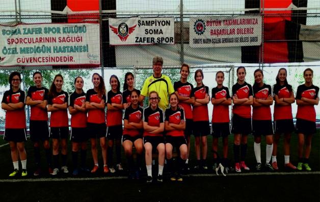 Zafer Spor Genç Kız Futbol Takımı Kırıkkale yolcusu