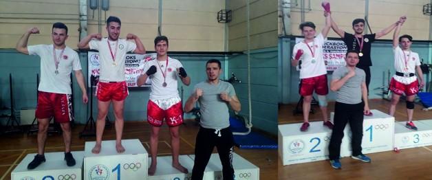 Zaferspor Kick Boksta Başarılara İmza Atıyor