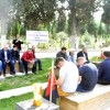 Zonguldaklı Madencilerden Soma'da Madenci Şehitliğine Ziyaret