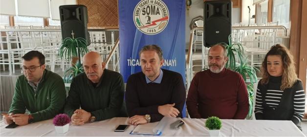"""BAŞKAN DOĞAN, """"HEPİMİZİN TEK DERDİ SOMA"""""""